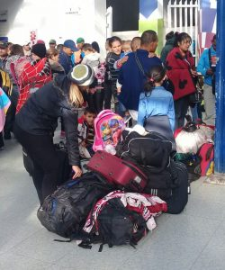 Venezuelan migrants