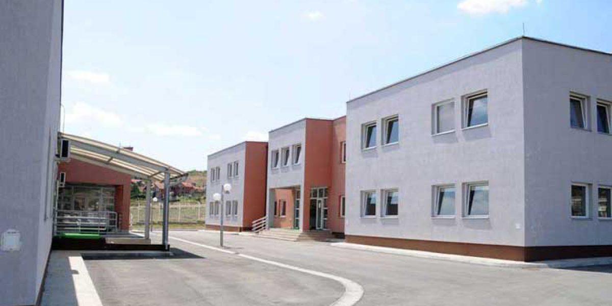 A view of the asylum reception centre 25km outside Pristina, Kosovo.