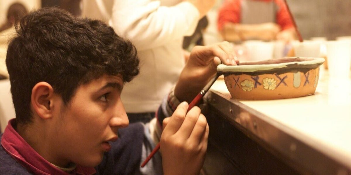 Ceramics classes run by Centro Astalli, (JRS Italy).