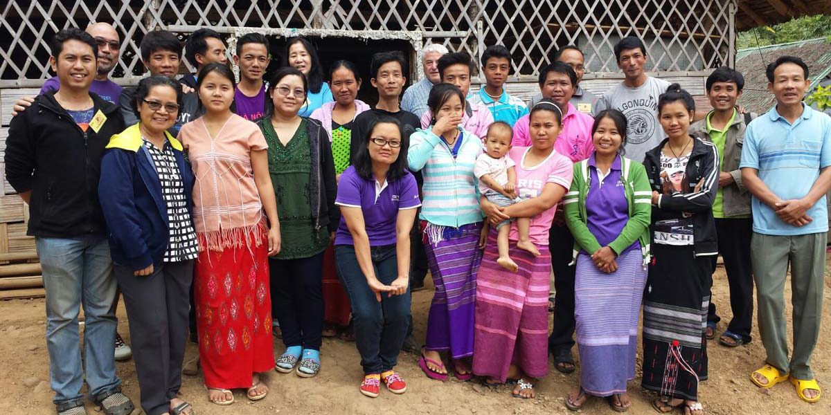 JRS Singapore team members visiting the Mae Hong Son Camp for a JRS Teacher's Training.
